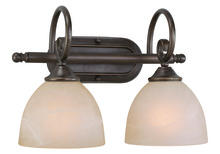 Jeremiah 25302-OB - Raleigh 2 Light Vanity in Old Bronze